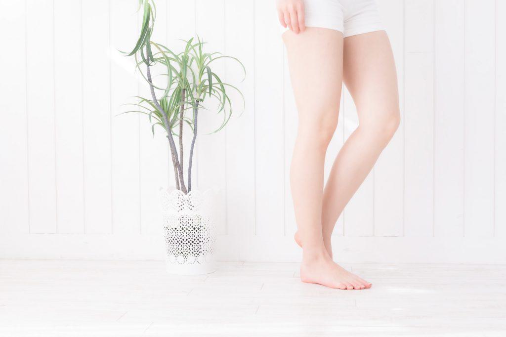 脚を細くする方法