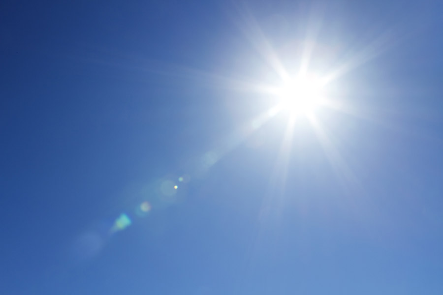 太陽光線による肌老化