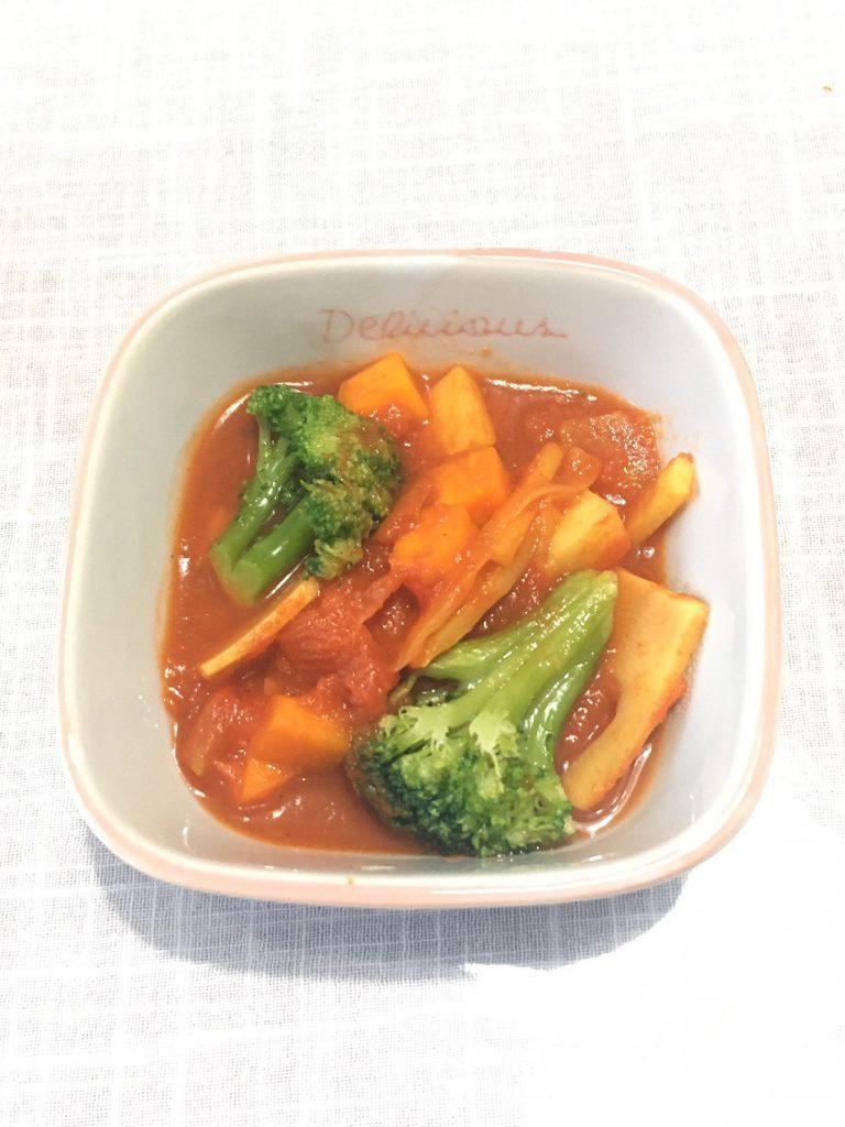 筍と野菜のトマト煮込み