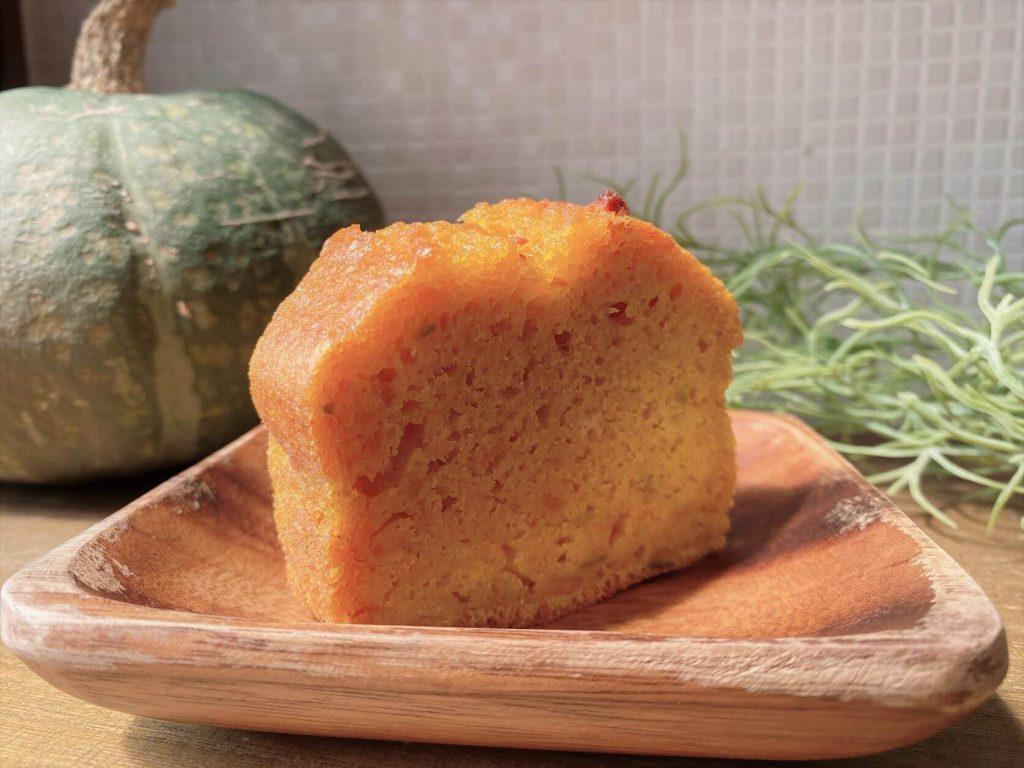 ふわふわかぼちゃのパウンドケーキ