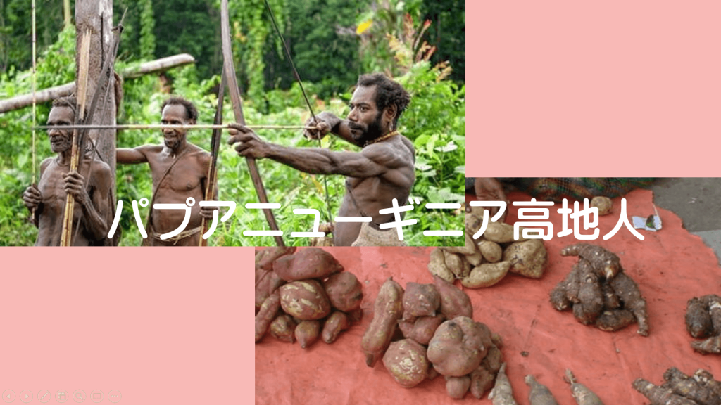 パプアニューギニア高地人